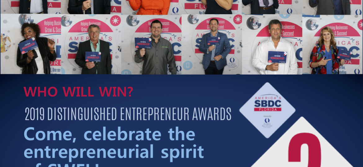 2019 Distinguished Entrepreneur Finalists