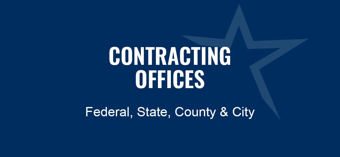 Contracting Offices Federal, State, County and City | FSBDC Small Business Consulting Government Contracting